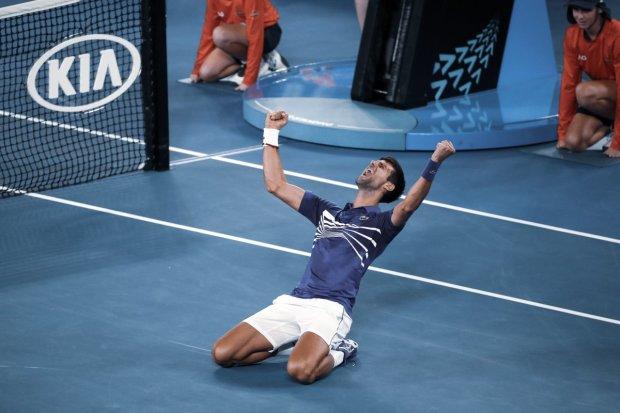 Джокович розгромив Надаля у фіналі і всьоме виграв Australian Open