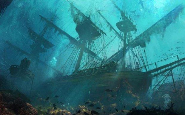 Неизвестный пятисотлетний корабль нашли на дне моря