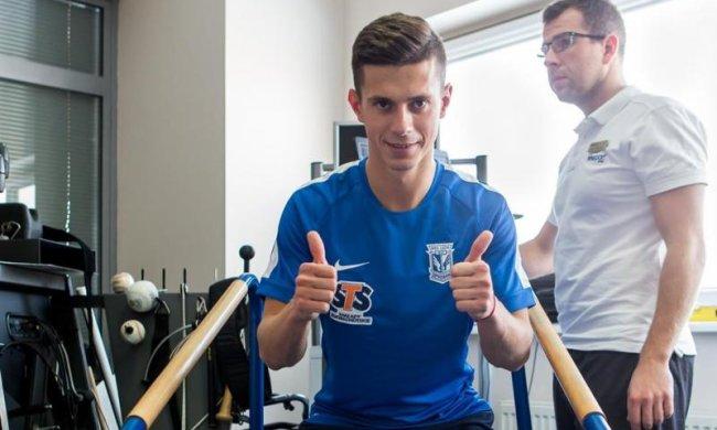 Украинский защитника признали лучшим в чемпионате Польши