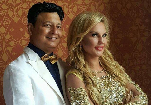 Камалия с мужем, фото: Viva!