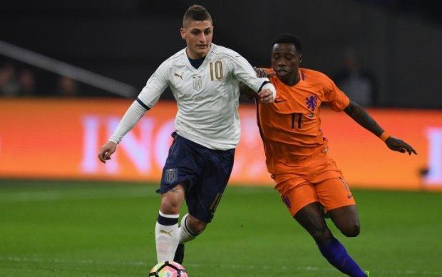 Нидерланды - Италия 1:2 Видео голов и обзор матча