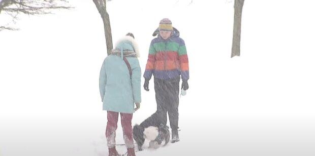 Погода в Украине, скриншот: Youtube