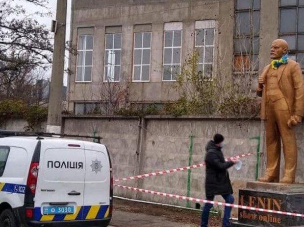 В Киеве появился памятник Ленину: Telegram Киев сейчас