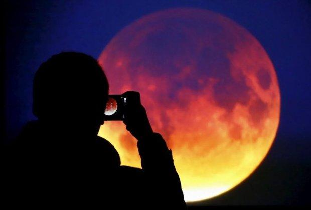 Місяне затмение 14 июля