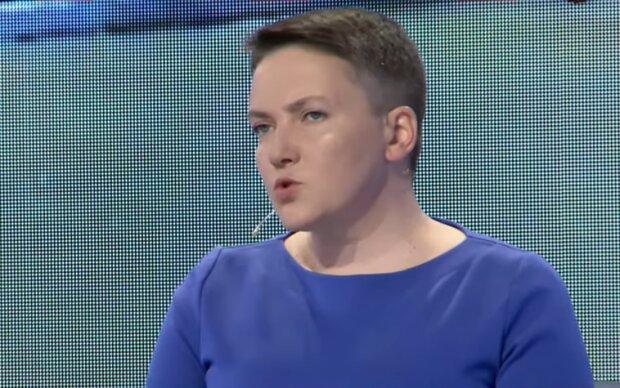 Надія Савченко, скріншот: YouTube