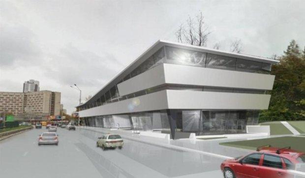 Біля парку КПІ з'явиться торговий центр (фото)