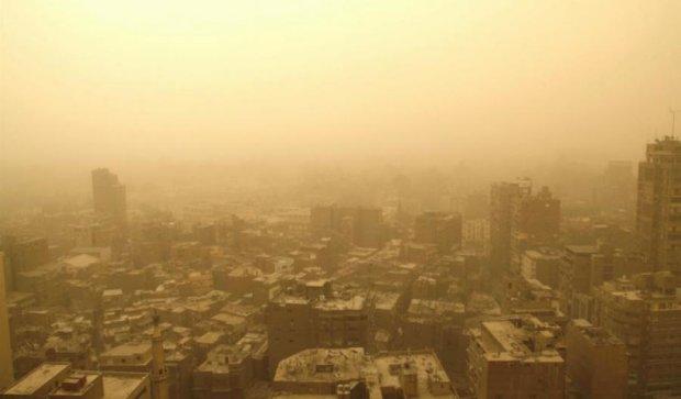 Піщана буря в Лівані: троє загинули, більше двох тисяч постраждали