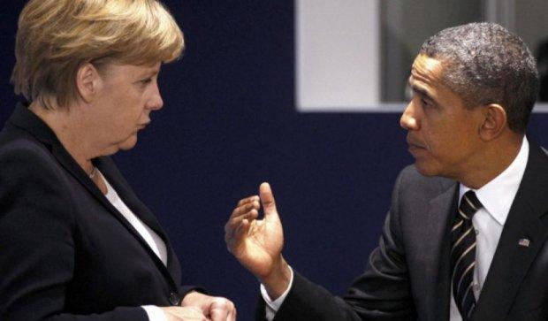 Меркель і Обама назвали дату закінчення санкцій проти Росії