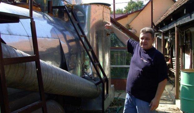 Закарпатец изобрел дешевую биогазовую установку для хозяйства