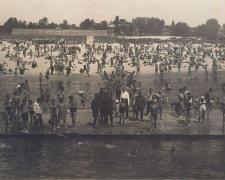 як виглядали київські пляжі століття тому