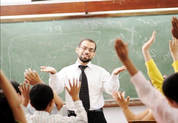 Вчитель і школярі