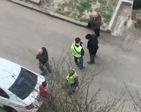 карантин в Харькове, скриншот из видео