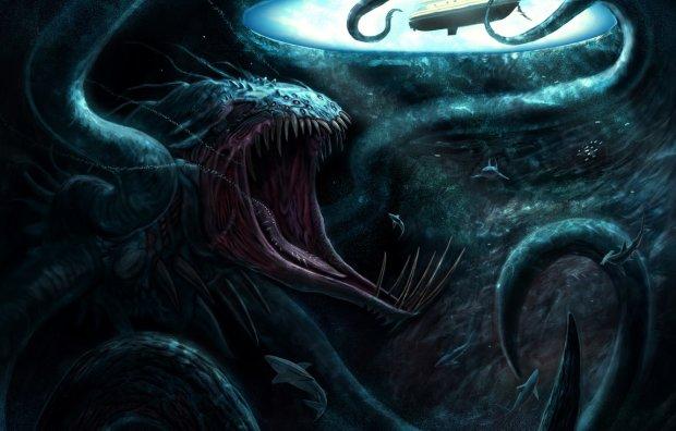 Древний прародитель гигантского кальмара: легенда о хищнике, пугающем моряков