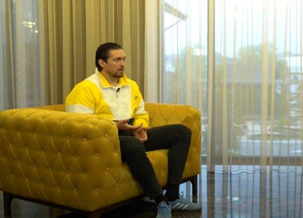 Олександр Усик, скріншот з відео
