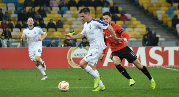 Ліга Європи: Динамо показало гарну гру і впевнено перемогло в Києві Ренн