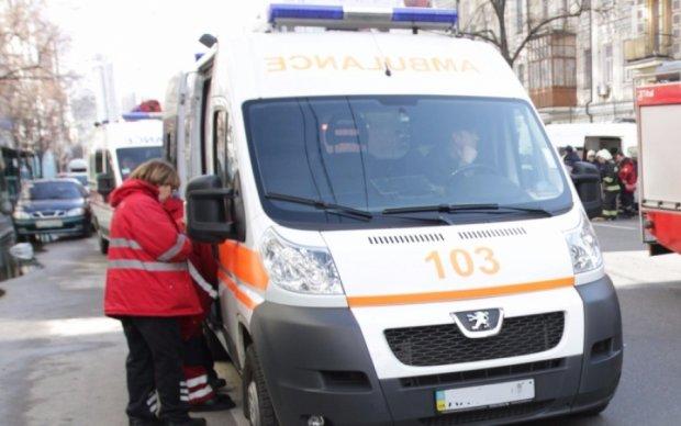 Посреди Киева нашли коляску с двумя детьми