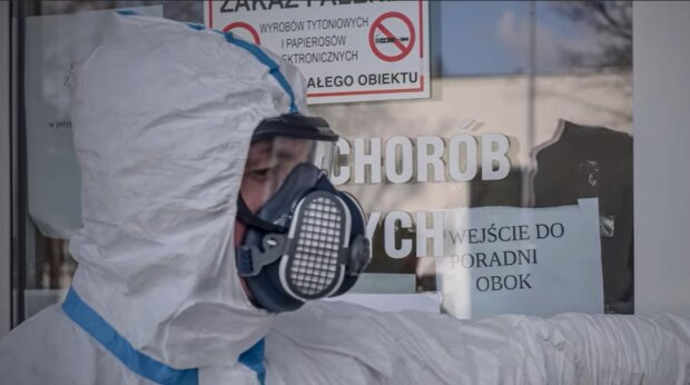 Карантин у Польщі, скріншот: YouTube