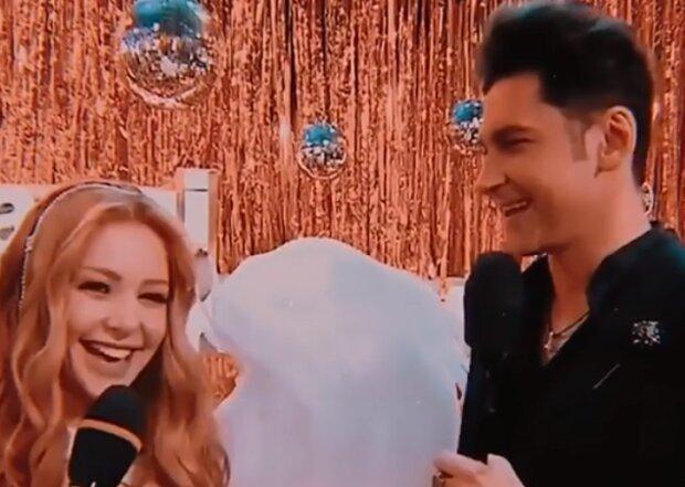 Дан Балан і Тіна Кароль, скріншот з відео