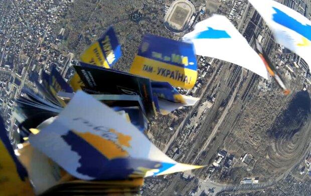 Внизу – оккупировання Горловка. Вид с БПЛА, фото: radiosvoboda