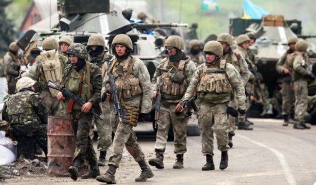Военные меняют подразделения Нацгвардии и МВД на передовой