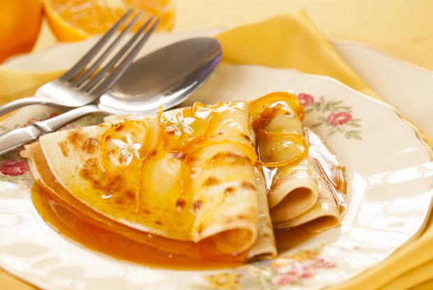Отличная идея для завтрака: кукурузные блины с фундуком