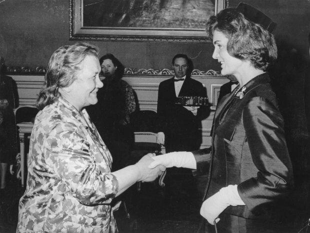 Нина Хрущева и Жаклин Кеннеди, фото: Новый взгляд
