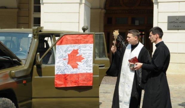 Канада подарувала Нацгвардії позашляховик