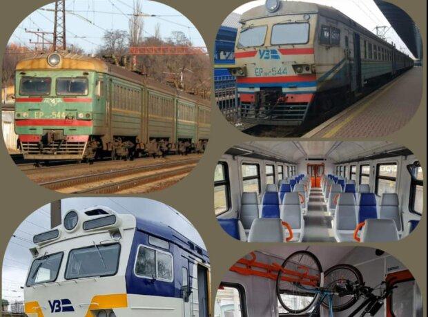 Киевлян порадовали обновленной электричкой, как в Европе