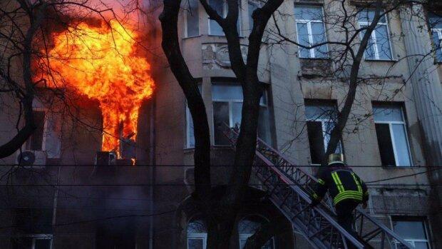 Пожар в Одессе, фото: 24 канал