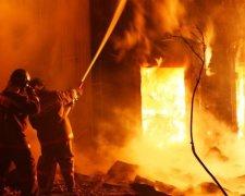 Пожар на Львовщине