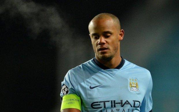 Капітан Манчестер Сіті вийшов на лід для рекламного ролика
