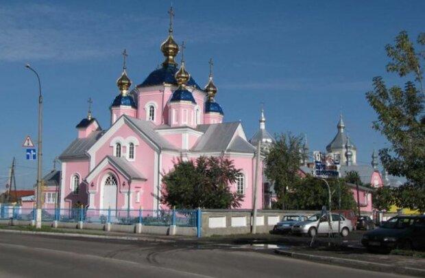 Храм УПЦ МП, скріншот: YouTube