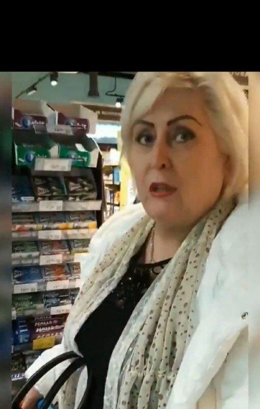 Обвиняемой в сепаратизме Штепе устроили допрос в киевском супермаркете и сняли ее побег на видео