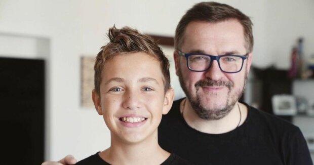 Пономарьов порівняв себе і сина в 14 років: одне обличчя