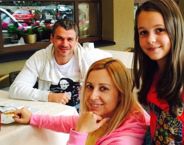 Тоня Матвиенко с семьей, фото с Instagram