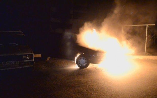 На Київщині спалили машину відомої активістки