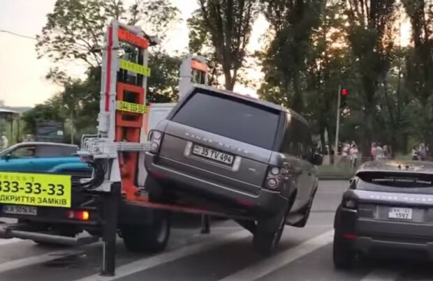 эвакуатор, скриншот из видео