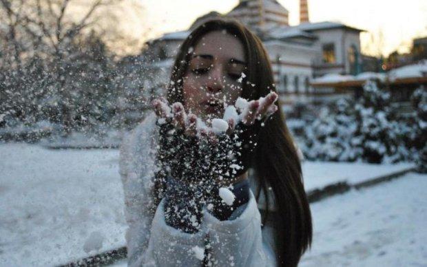 Перший сніг прийшов в Україну