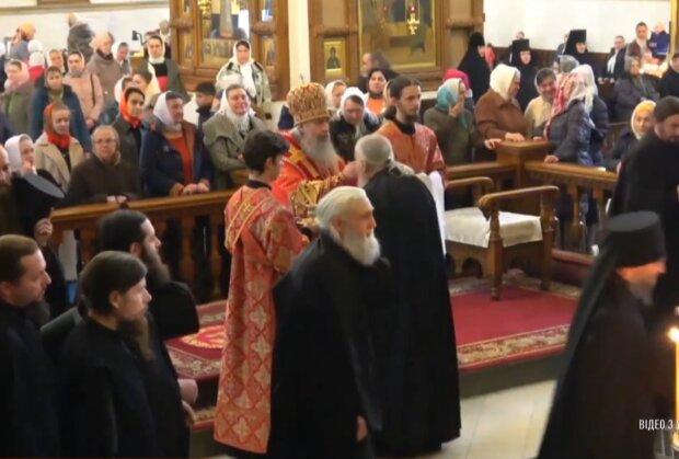 У Святогірській Лаврі, скрін з відео