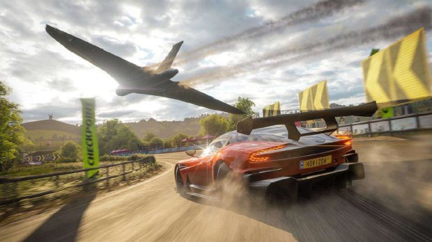 Forza Horizon 4 побила рекорд Microsoft