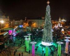Новий рік 2020 в Києві