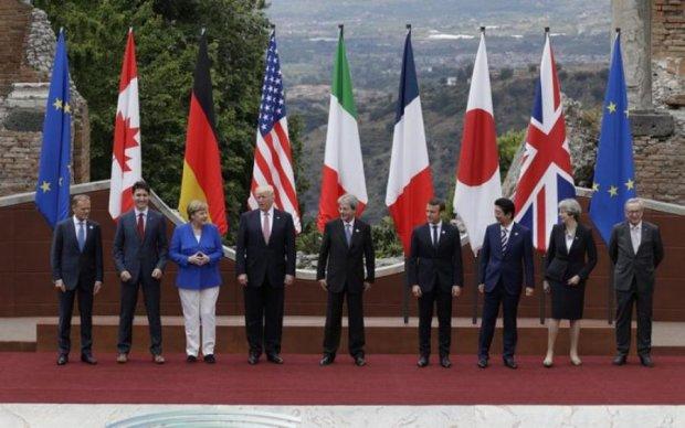 Антиросійські санкції стали каменем спотикання на саміті G7