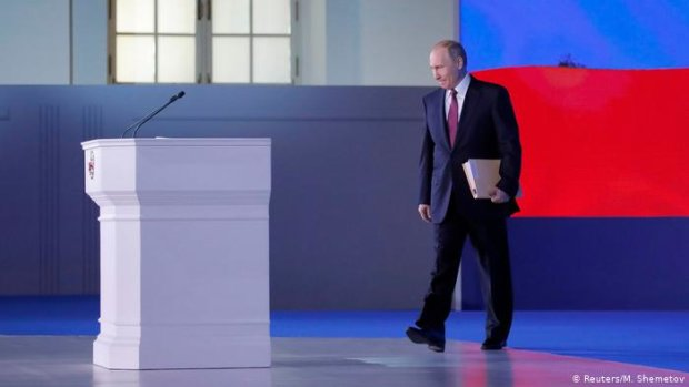 Путин стал посмешищем