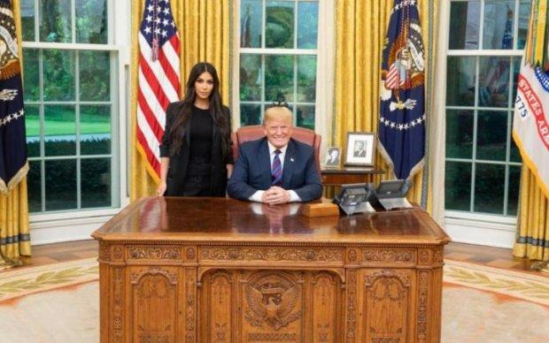 Ким, да не тот: в сети издеваются над встречей Трампа и Кардашьян
