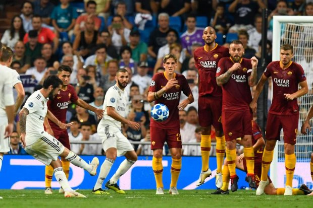Ліга чемпіонів: Реал розгромив Рому в Мадриді