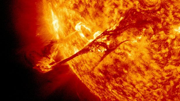 Вчені зафіксували найпотужнішу сонячну бурю: людство у небезпеці