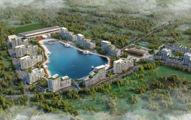 В Підгірцях проект ЖК Park Lake City групи компаній DIM призупиняють через ризики для екології та ігнорування соціальної складової