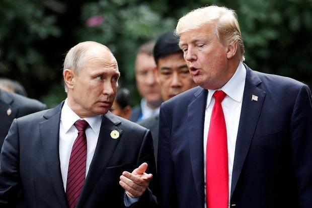 Трамп смолкнет, чтобы избежать наказания за отношения с Путиным