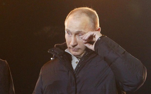 """""""Жду, когда начнут расстреливать"""": украинский телеведущий прогнулся под Путина в прямом эфире, такого не ожидал даже Киселев"""