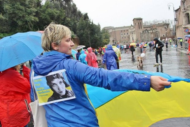 Римський марафон присвятили Надії Савченко (фото)